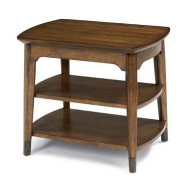 Flexsteel Gemini Chairside Table