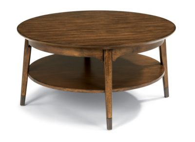 Flexsteel Gemini Round Coffee Table