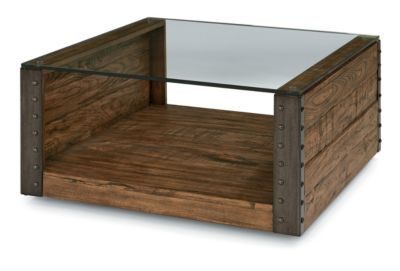 Flexsteel Bridge Square Coffee Table
