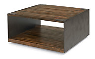 Flexsteel Flat Iron Square Coffee Table