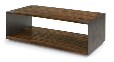Flexsteel Flat Iron Coffee Table