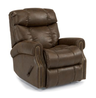 Flexsteel Morrison Chocolate Rocker Recliner
