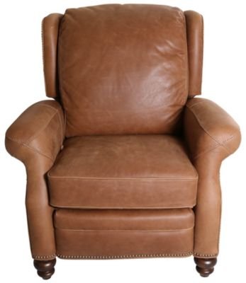 Flexsteel Wallace 100% Leather Power Recliner