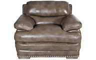 Flexsteel Dylan Mocha 100% Leather Chair