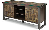 Flexsteel Patchwork Entertainment Console