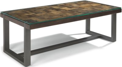 Flexsteel Patchwork Rectangle Coffee Table