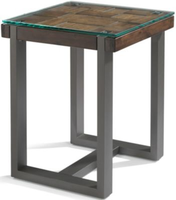 Flexsteel Patchwork Chairside Table