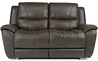 Flexsteel Hillard Power Reclining Loveseat