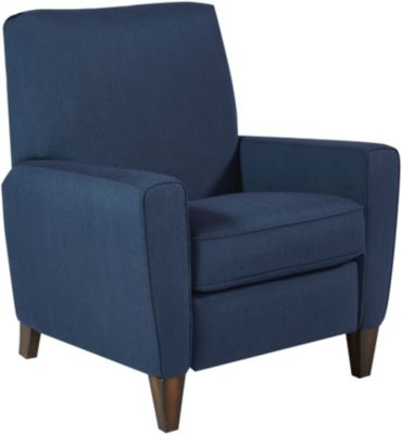 Flexsteel Digby Blue High-Leg Recliner