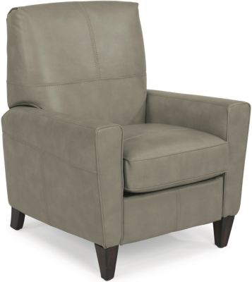 Flexsteel Digby Gray High-Leg Recliner