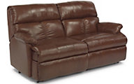 Flexsteel Triton 2-Piece 100% Leather Reclining Loveseat