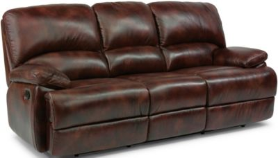 Flexsteel Dylan Leather Reclining Sofa