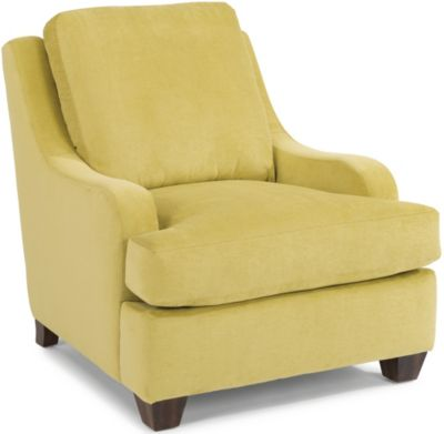 Flexsteel Salem Chartreuse Accent Chair