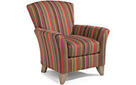 Flexsteel Jupiter Striped Accent Chair