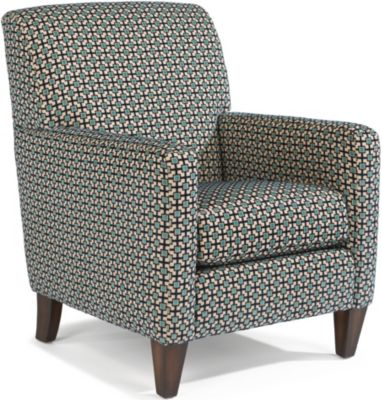 flexsteel cute geometric accent chair homemakers furniture