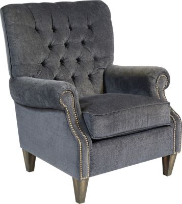 Flexsteel Azalea Blue Accent Chair