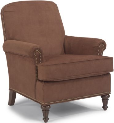 Flexsteel Flemington Chocolate Accent Chair