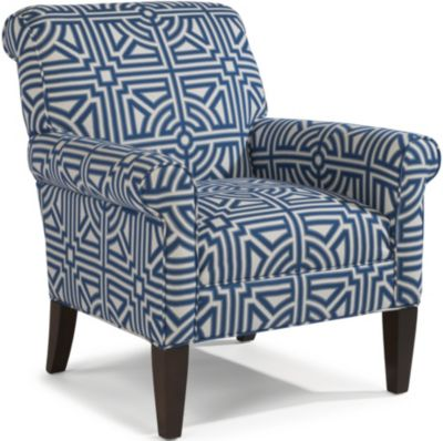 Flexsteel Newburgh Geometric Accent Chair