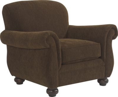 Flexsteel Winston Brown Accent Chair