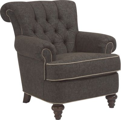 Flexsteel South Hampton Gray Accent Chair