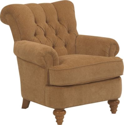 Flexsteel South Hampton Tan Accent Chair