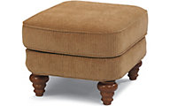 Flexsteel South Hampton Tan Ottoman