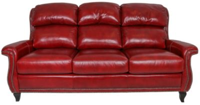 Flexsteel Stingray 100% Leather Sofa