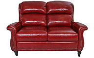 Flexsteel Stingray 100% Leather Loveseat