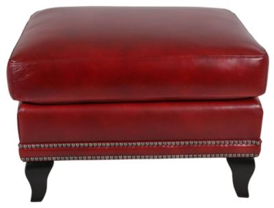 Flexsteel Stingray 100% Leather Ottoman