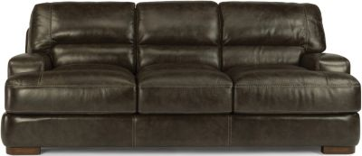 Flexsteel Jillian 100% Leather Sofa