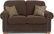 Flexsteel Harrison Brown Loveseat
