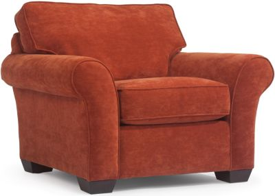 Flexsteel Vail Orange Accent Chair