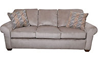 Flexsteel Thornton Queen Sleeper Sofa with Memory Foam