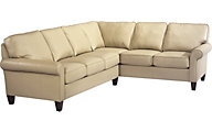 Flexsteel Westside 100% Leather 2-Piece Sectional