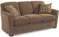 Flexsteel Lakewood Brown Sofa