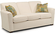 Flexsteel Lakewood White Sofa