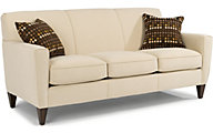 Flexsteel Digby White Sofa