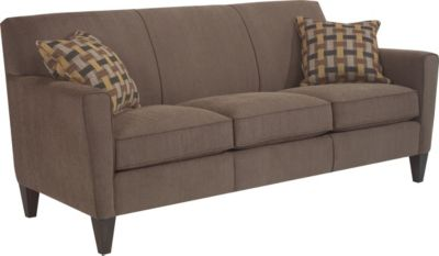 Flexsteel Digby Brown Sofa