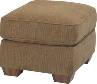 Flexsteel Main Street Tan Ottoman