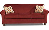 Flexsteel Dana Red Sofa
