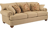 Flexsteel Patterson Cream Sofa