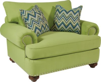 Flexsteel Patterson Green Accent Chair