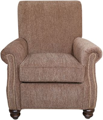 Flexsteel Baybridge Mocha Press-Back Recliner
