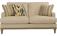 Flexsteel Ocean Cream Loveseat