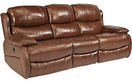 Flexsteel Amsterdam Leather Power Reclining Sofa