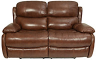 Flexsteel Amsterdam Leather Power Reclining Loveseat
