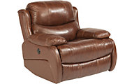 Flexsteel Amsterdam Leather Power Gliding Recliner