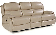 Flexsteel Amsterdam Leather Reclining Sofa