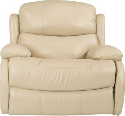 Flexsteel Amsterdam Leather Glider Recliner