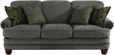 Flexsteel Bay Bridge Gray Sofa